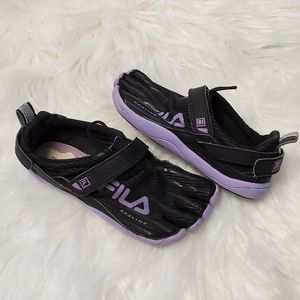 Fila Easy Slide Toe Shoes Run Water 5 Skele-Toes